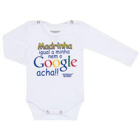 Body Longo Para Bebe Em Suedine Google Madrinha - Primeiras