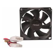 Cooler Fan Ventilador Noga 80x80 12v Molex Gabinete Fuente