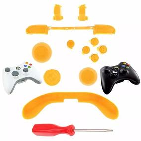 Kit Reparo Controle Xbox 360 - Chave T8 Com Furo ( Amarelo)