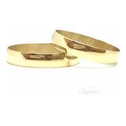 Alianzas Oro 18kt 4gr Compromiso Casamiento Italiano