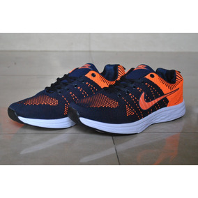 Kp3 Nike Air Zoom Azul Naranja Caballeros