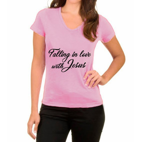 Camiseta Evangelica Falling In Love