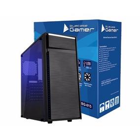 Gabinete Gamer Bluecase Bg-015 2 Baias Usb 3,0 S/ Fonte