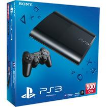 Playstation 3 Ps3 500gb Superslim + 65 Juegos Digitales