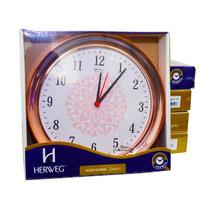 Atacado Lote 5 Relógios De Parede Rosê Herweg