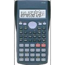 Calculadora Cientifica Classe Cla 350ms 2 Linhas Com Capa