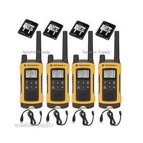 4 Radio Comunicador Motorola Talkabout T400 56km Walk Talk