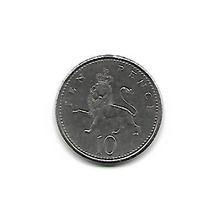 Moeda Inglaterra 1992 - 10 Pence - #733