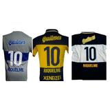 Camiseta De Boca Juniors Retro Titular Riquelme 1998