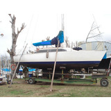 Velero Plenamar 27 Motor Interno Diesel - Calado Variable