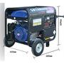 Generador 2 Fases Cbyamaha 8.5kw 400v 230v A Gasolina