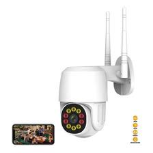 Cámara De Seguridad Wifi Exterior 6 Led De Iluminación 1080p