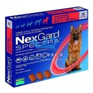 Nexgard Spectra 3 Tabletas 30-60kg Mejor Que Bravecto