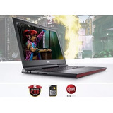 Dell Inspiron 15,6 7567 Gaming I7-7700hq 8gb Gtx 1050ti 4gb