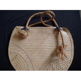 Bolsa De Palha - 42x30cm