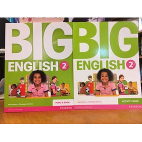 Big English 2 - Pupils Book & Activity Book - Pearson
