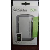 Cargador Portatil Powerbank Gp 2600 Mah Ultra Slim