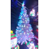 Base arbol navidad fibra optica