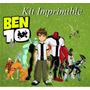 Kit Imprimible Ben 10 - Invitaciones Cards Cajas Souvenir