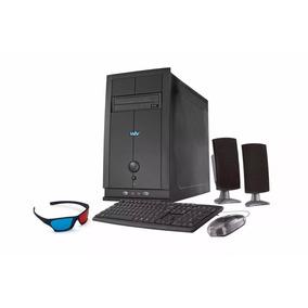 Computador Desktop Cce E365 Core I3 6gb 500gb Monitor 15