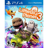 Little Big Planet 3 Ps4 Mídia Física Lacrado