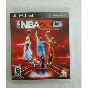 Jogo Nba 2k13 Seminovo Ps3 Esporte Playstation3