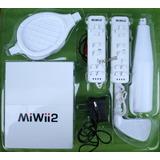 Miwii2 Consola De Video Juegos Con 51 Juegos Y Accesorios.