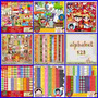 Kits Scrapbook Digital Festa Junina - Frozen Fever