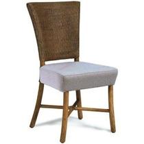 Cadeira Sabrina Palha Importada Churrasqueira Varanda Sala