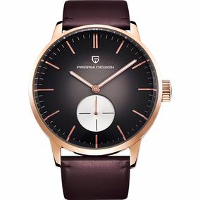 Pagani Design Flight Club Seiko Reloj Dorad Hombre Diego Vez