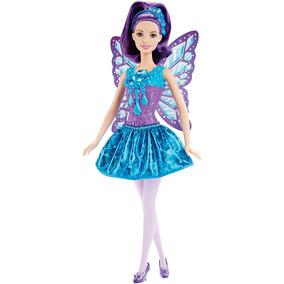 Boneca Barbie Fantasia Fadas Reinos Mágicos Dos Doces Mattel