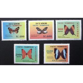 C3657 Equador - Fauna Borboleta Yvert Nº 1384/8 De 1997 Nnn