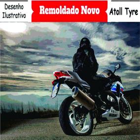 Pneu Moto 2.75/18 Remold - Cg / Ybr / Strada Dianteiro