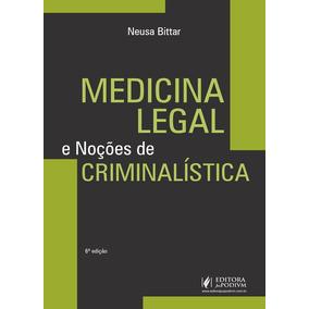 Medicina Legal E Nocoes De Criminalistica - Juspodivm