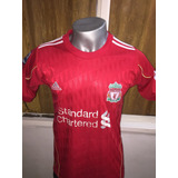 Camiseta Liverpool 2011-2012