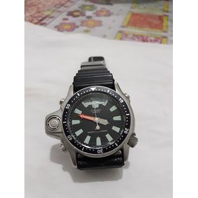 9abeb58fc38 Relogio Citizen Aqualand Serie Prata Usado - Relógio Masculino ...