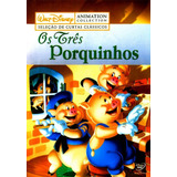 Disney Animation Collection - Os Três Porquinhos - Dvd Novo