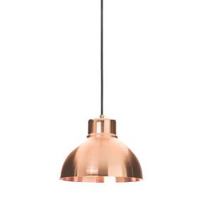 Lámpara De Techo Caia 2 Cobre Con Cable Tejido