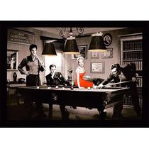 Marilyn Monroe Elvis Presley James Dean Bastidor De 140x100