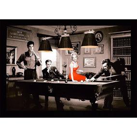 Marilyn Monroe Elvis, James Dean Cuadro Bastidor100x70cm+env