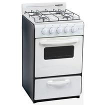 Cocina Martiri 50 Cm New Lujo / V Gas Envasado Blanca