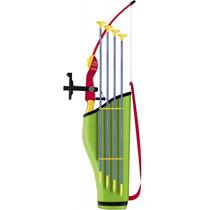 Kit Arco Flecha Infantil Mira Laser Crossbow Besta Bel 4903