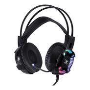 Fone Headset Gamer Vx Gaming Enya Audio 7.1 Led Rgb Estático