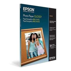 Papel Epson S041141 Photo Glossy X 20 Carta (8,5 X 11 )