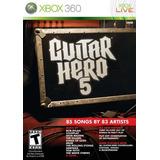 Guitar Hero 5 Stand Alone (juego Bilingüe)