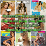 Coleccion Play Boy Latino 48 Revistas