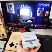 Retrobox Snes, 20 Mil Jogos Na Memoria, Caixa De Mdf