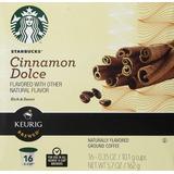 Starbucks Cinnamon Dolce Flavored Coffee Keurig K-cups 16 C