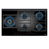Parrilla Vitrocerámica Gas Teka Cgw Lux 90 5g Touch Control