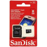 Memoria Sandisk Microsd + Adaptador 8gb 16gb Al Por Mayor